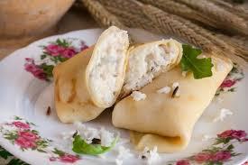 Блинчики с овечьим сыром
