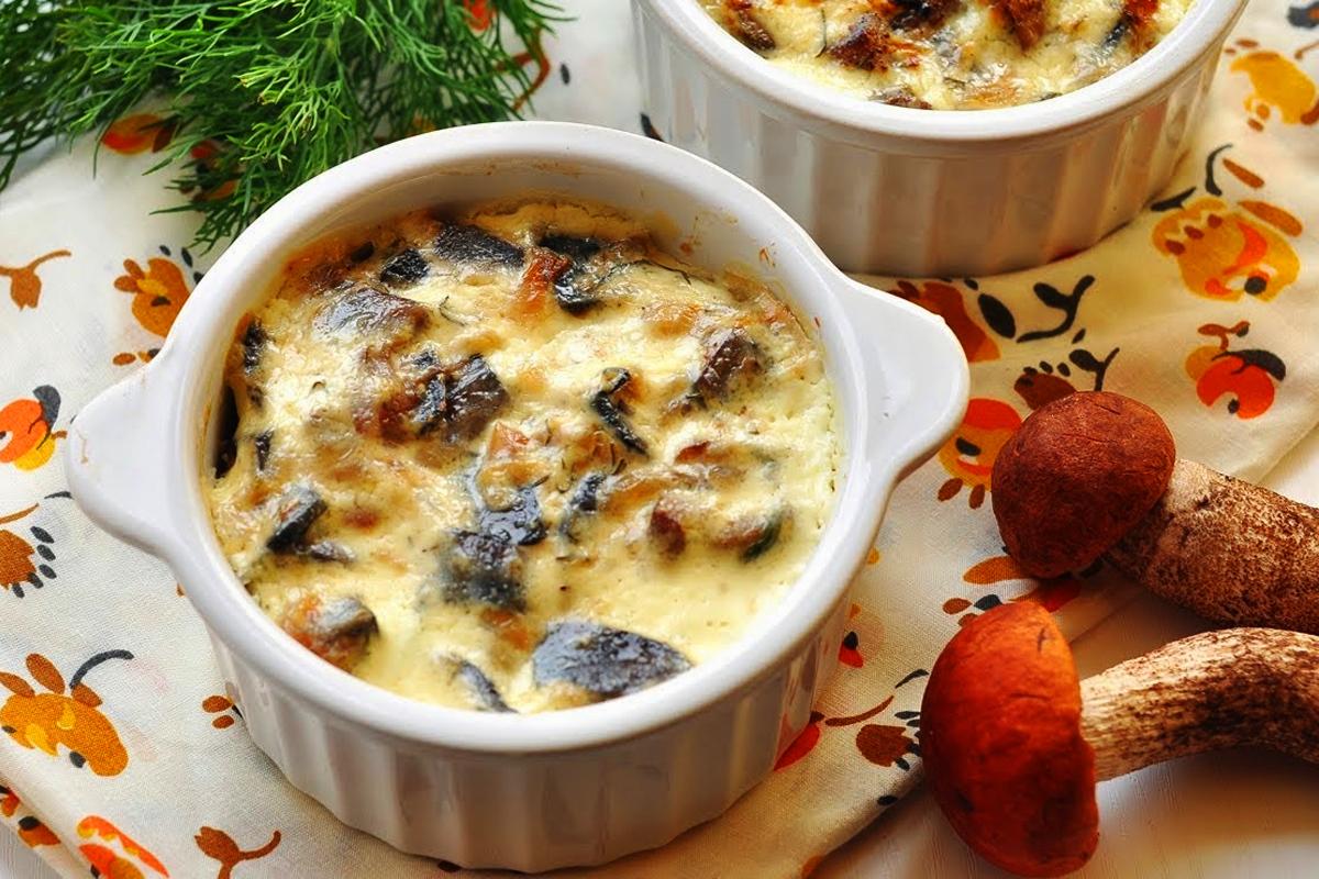 Рецепт жульена с курицей и грибами в духовке со сливками рецепт с пошагово 22