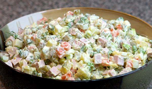 Оливье. Как приготовить вкусный салат оливье
