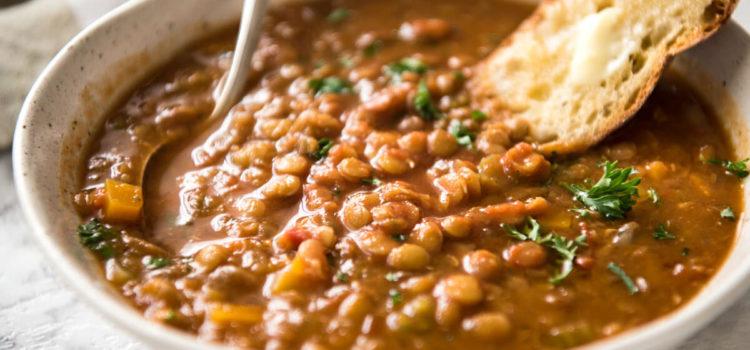Чечевичный суп ( Lentil Soup)
