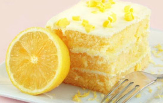 Лимоновый тортик