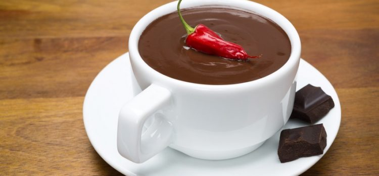 Горячий шоколад с перцем чили